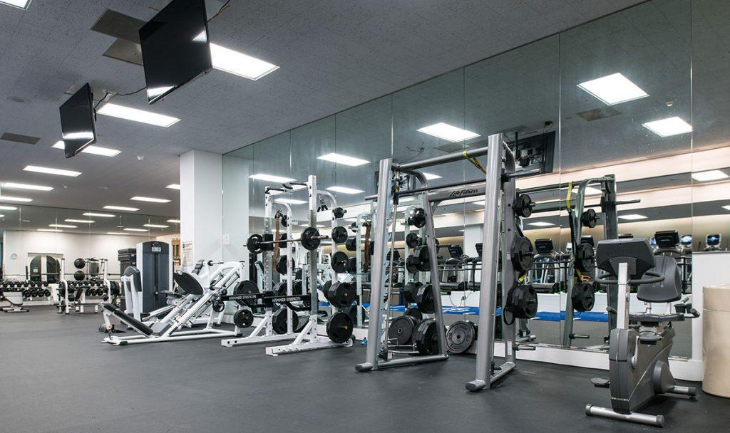 fitness floor 1
