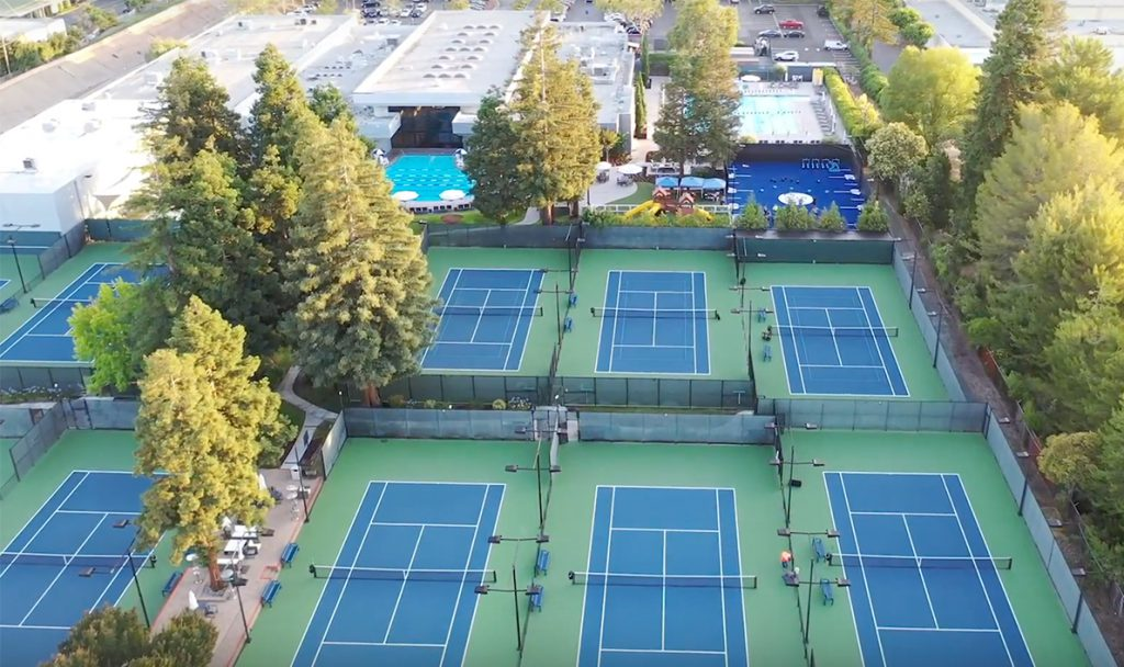 Tennis Courts aerial Tennis Courts aerial