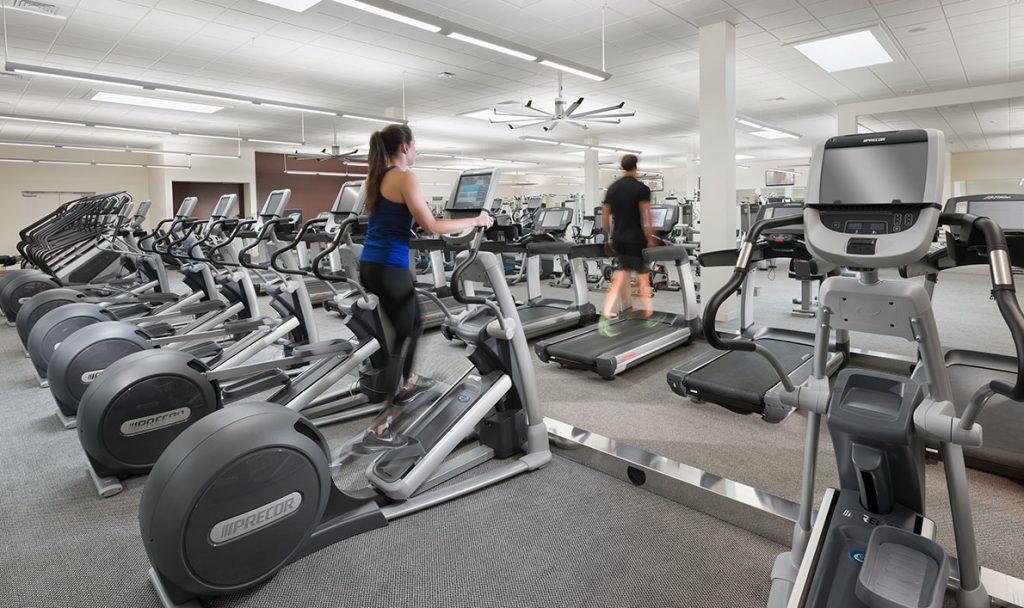 Fitness floor cardio