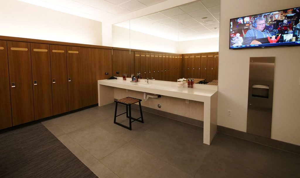 Mens Locker Room Mens locker room tvs