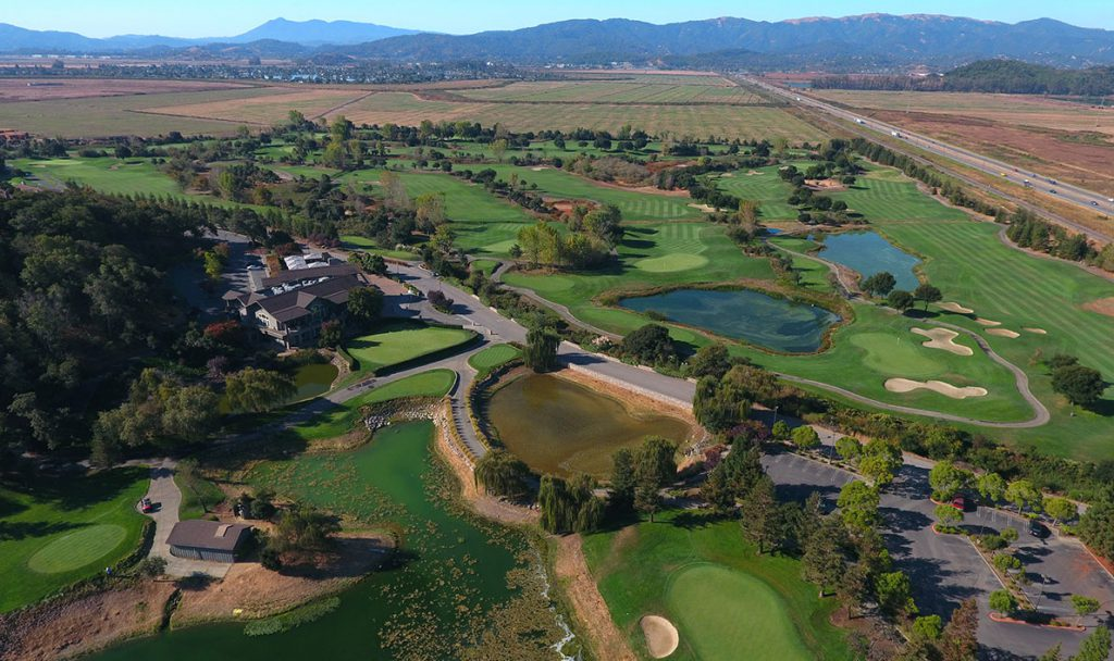 Golf Course Aerial Golf Course Aerial