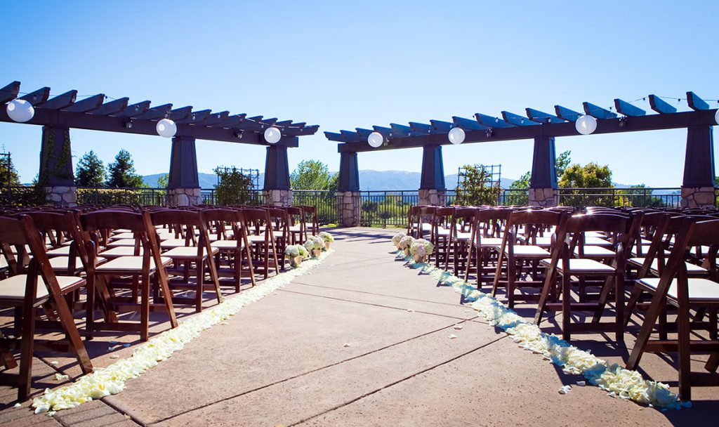 Wedding Outdoor Seating