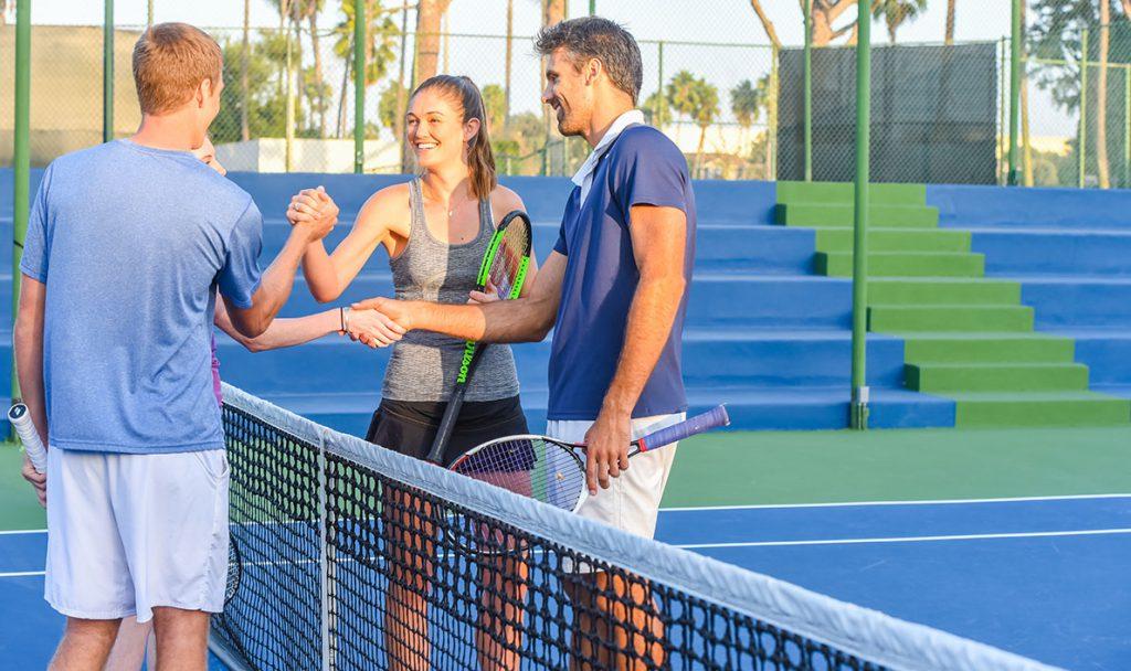 Doubles Tennis Doubles tennis