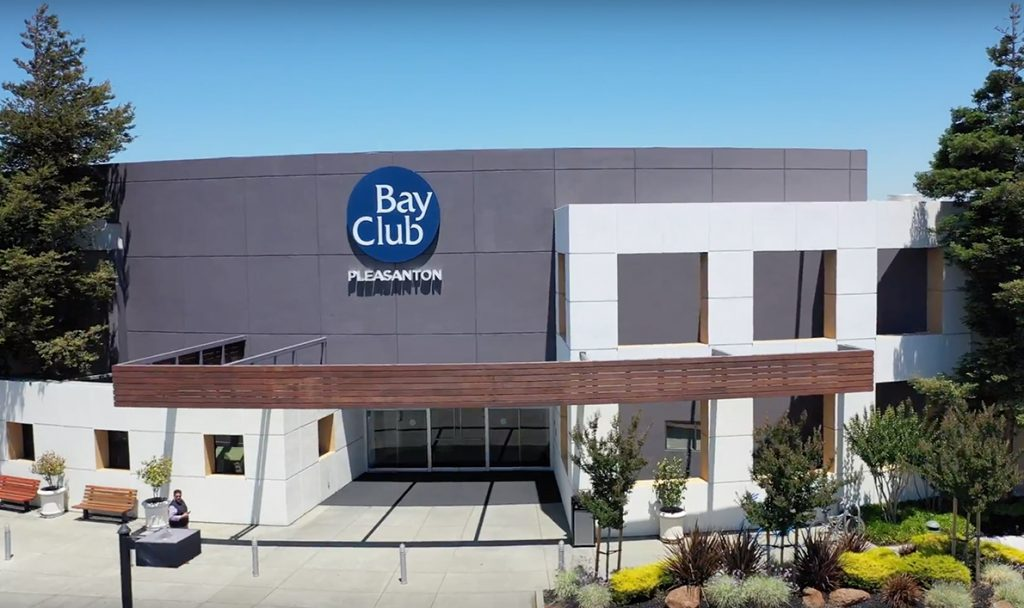 Bay Club Pleasanton Entrance