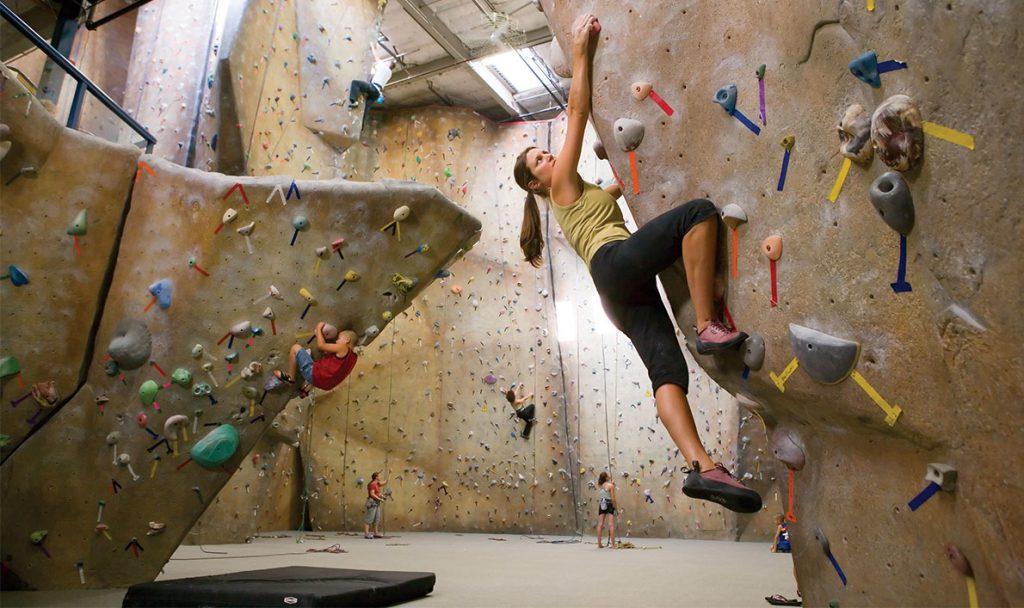 Ascent Climbing Wall at Bay Club Portland Ascent Climbing Wall at Bay Club Portland