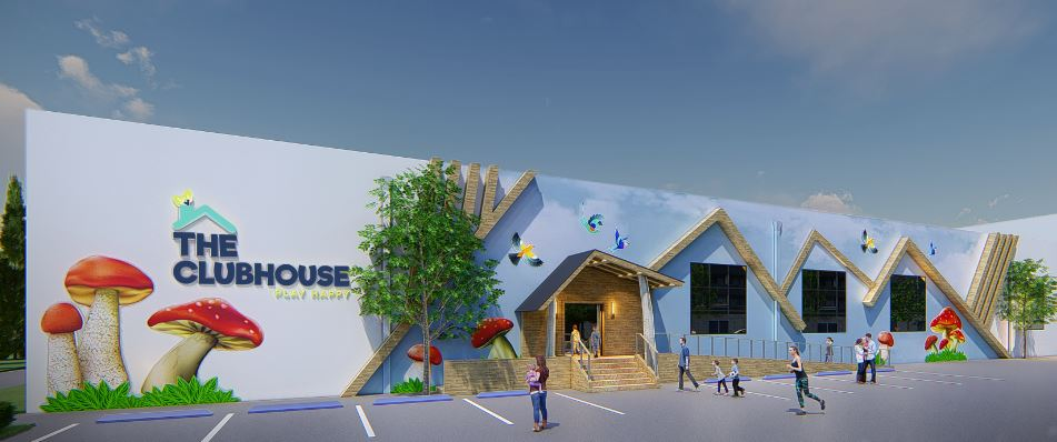 The Clubhouse - Rendering of New Entrance